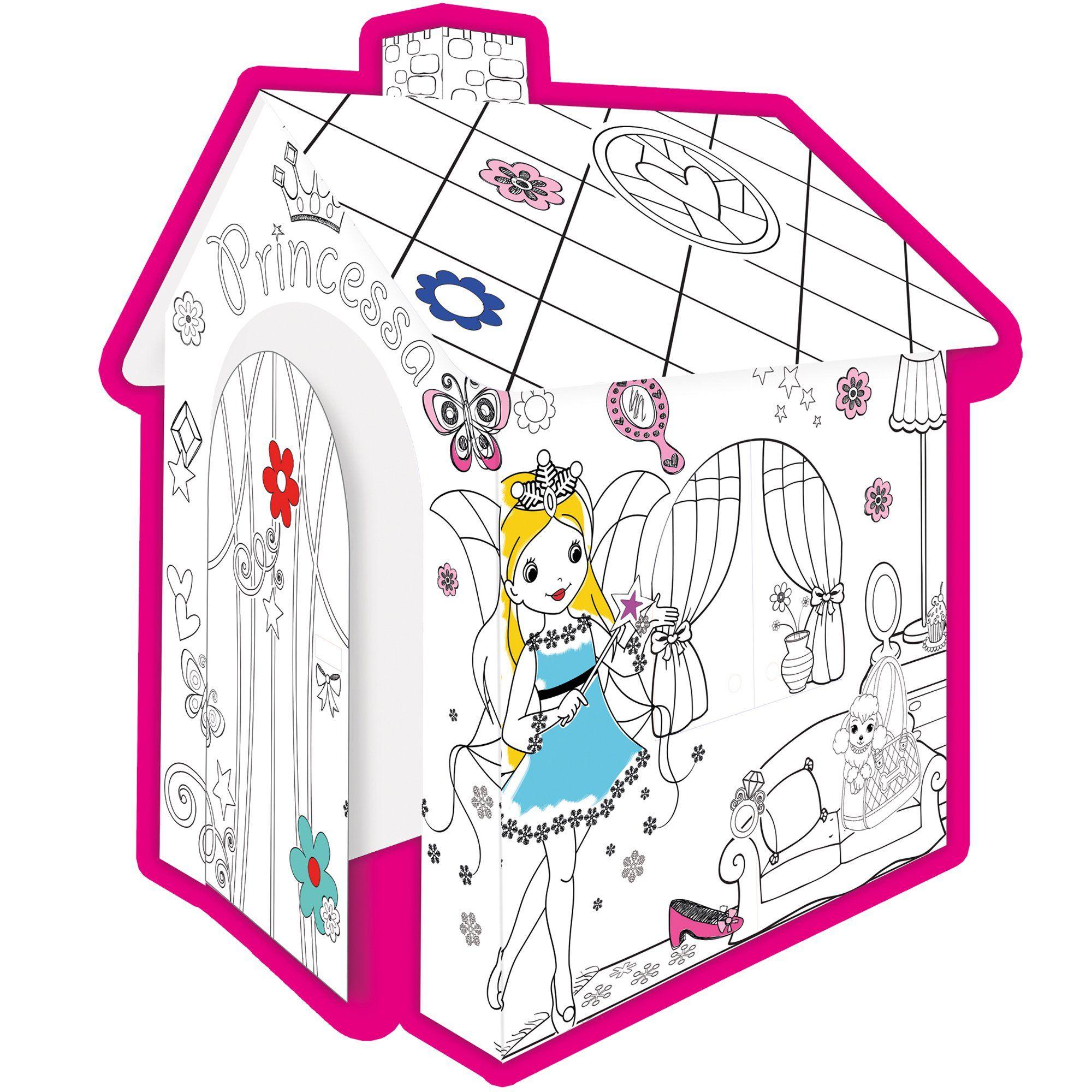 Zobacz Mega Promocje Mochtoys Duzy Domek Do Kolorowania Dla Dzieci Ksiezniczka With Images Kolorowanie Dla Dzieci Dzieci