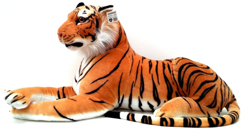 Amazon Com Viahart 72 Inch Giant Orange Bengal Tiger Stuffed Animal