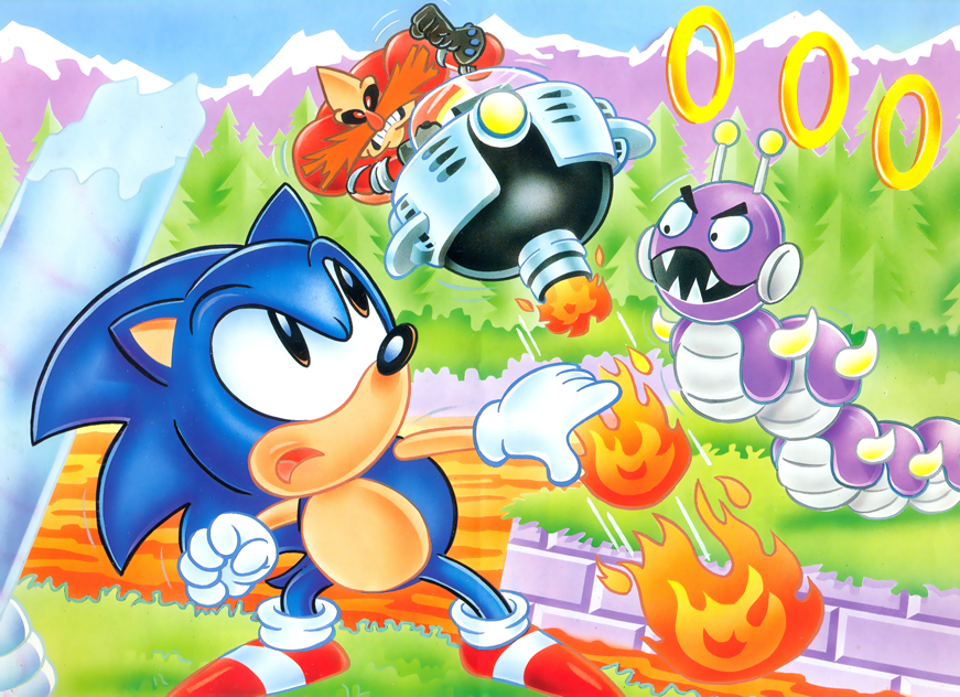 Marble Zone Boss Sonic The Hedgehog Classic Sonic Sonic