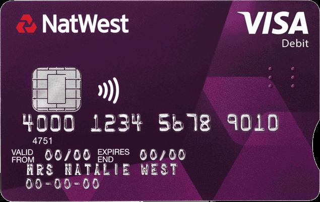 Accessible Debit Card Natwest Debit Sight Loss First Bank
