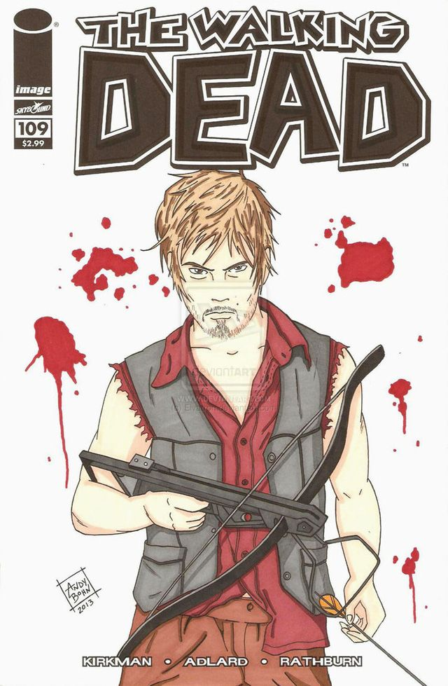 the walking dead daryl dixon comic | THE WALKING DEAD : NORMAN REEDUS IMPLORA A ROBERT KIRKMAN PARA COLOCÁ ...