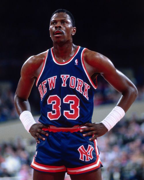 Nba Patrick Ewing New York Knicks Unsigned 8x10 Photo