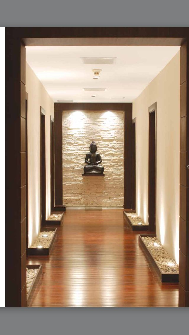 Here I Like The Light Over The Rugged Wall Could Look Good At The End Of The Garden Or Behind The Main Entrance Foyer Design Entrance Door Design Door Design
