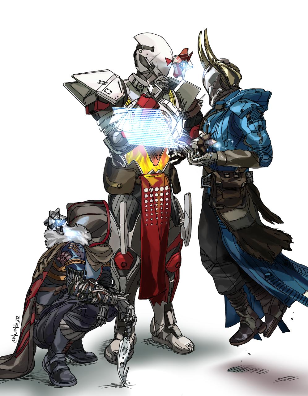 Destiny Destiny 2 Guardian Chill Chilling Hunter Warlock Titan Ghost Team Destiny Comic Destiny Cosplay Destiny Hunter
