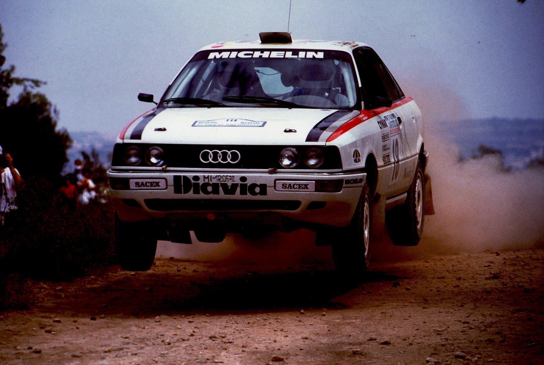 Audi 90 Quattro Rally Car