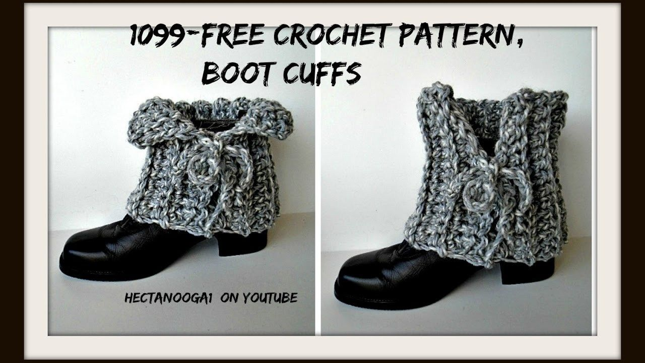 30+ Inspired Image of Crochet Boot Cuffs Pattern Free #bootcuffs