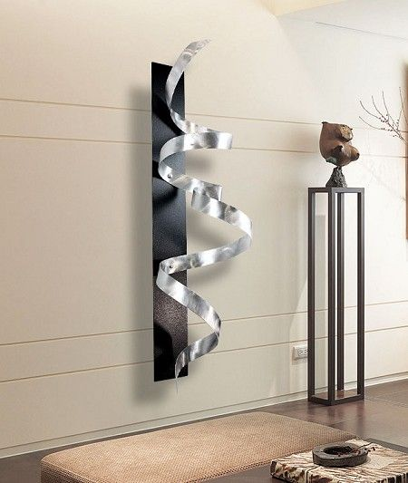 Black Knight - Silver & Black 3D Metal Wall Art Sculpture Accent by ...