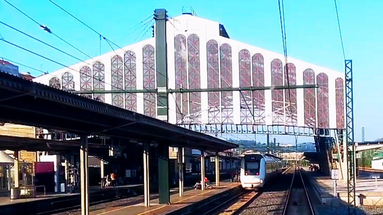 Estacion De Santiago De Compostela Trenes Santiago De