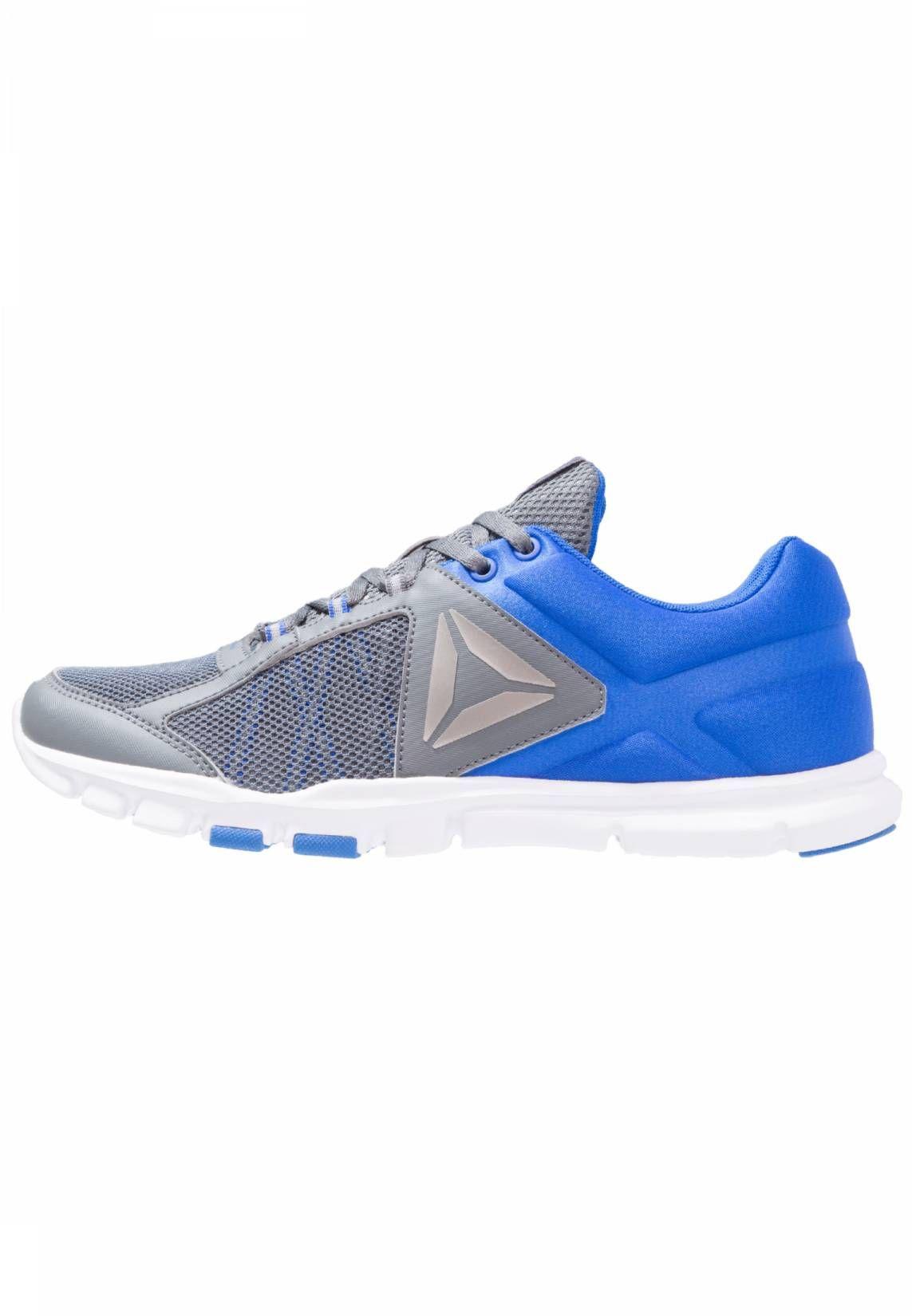 7251f81555b Reebok. YOURFLEX TRAIN 9.0 MT - Sportschoenen - alloy/blue.  materiaalverwerking:mesh