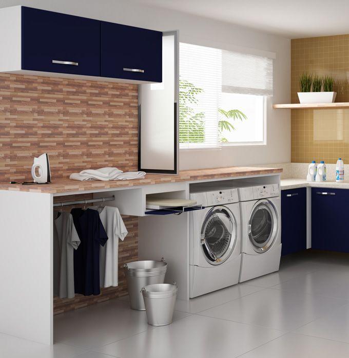Aparador Branco Lacado ~ lavanderia armarios embutidos jpeg (680 u00d7697) Lavanderia