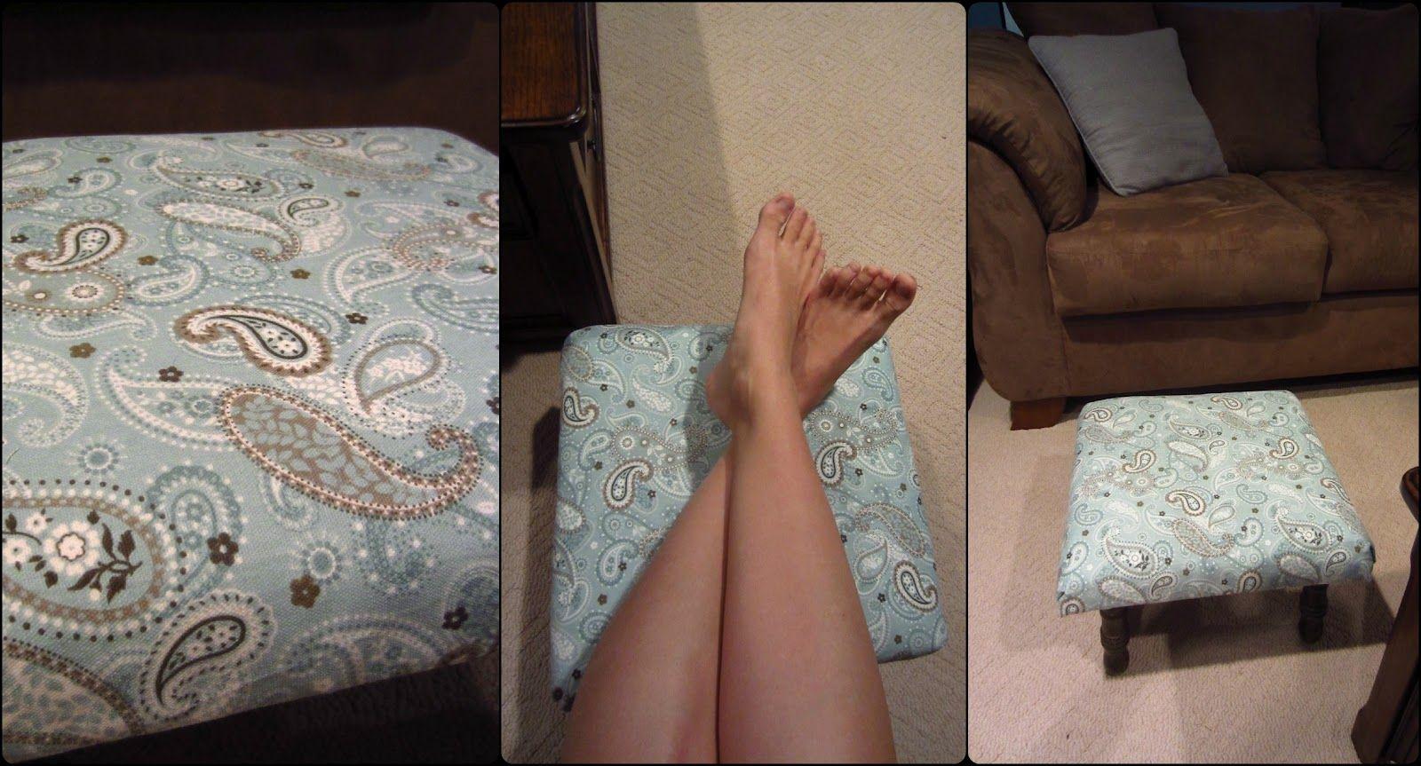 Pedestal re-upholstery