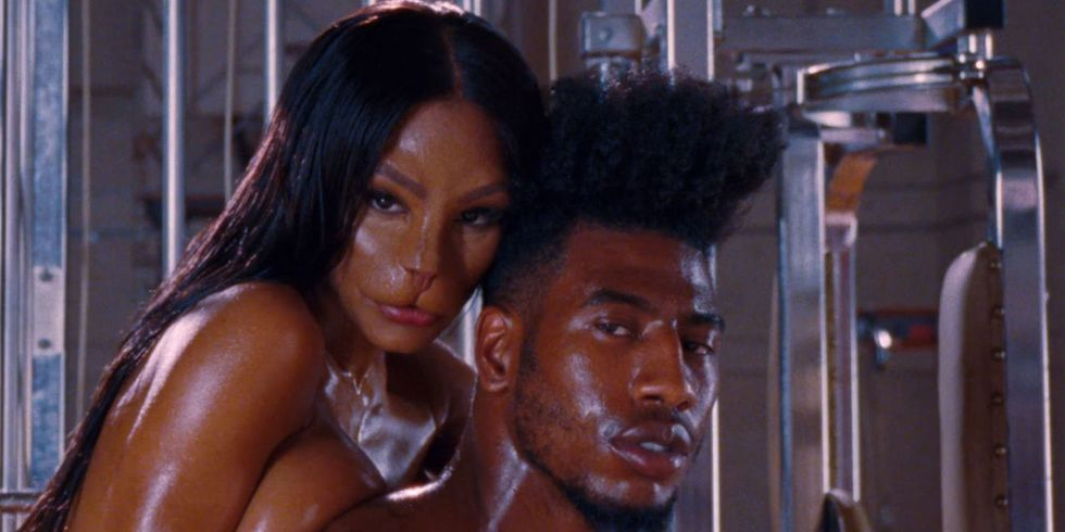 The Meaning Behind The Cat Face In Kanye West S Fade Video Kanye West Fade Fade Music Video Teyana Taylor