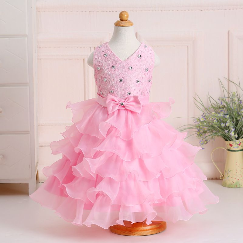 Click To Buy 2 8 Y Baby Girl New Styles Christmas Party Dress