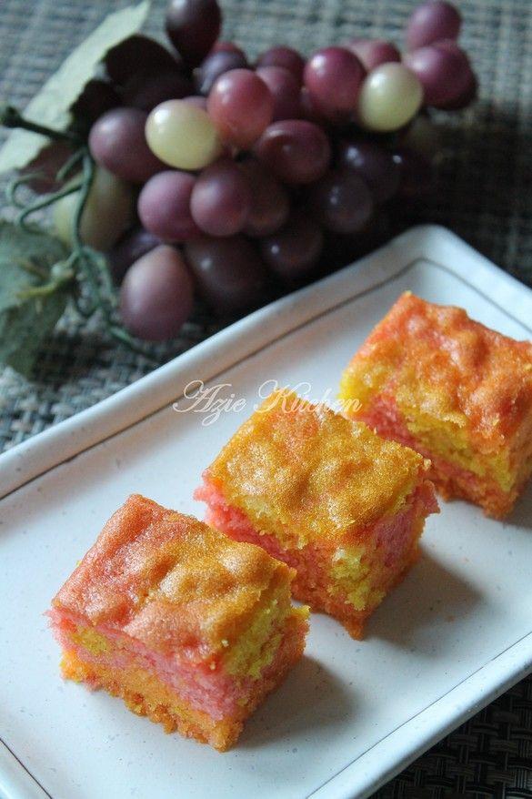 Azie Kitchen Kek Marble Sedap Di Tahun Baru 2016