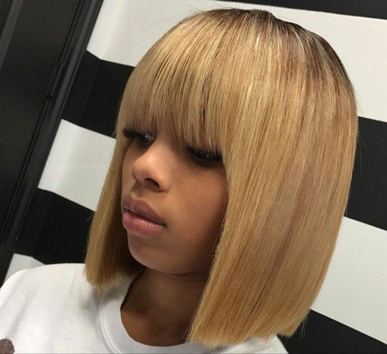 Blonde Sew Ins Hairstyles With Color Colorhair Haircolour Hairextension Minklashes Clipins Clipinhair Tape Hair Styles Weave Hairstyles Wig Hairstyles