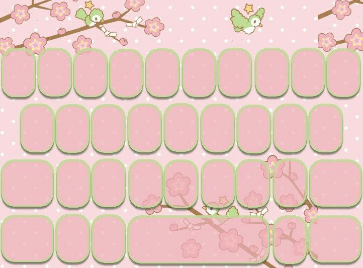 Pink Keyboard Theme Wallpaper Teclado Ideias
