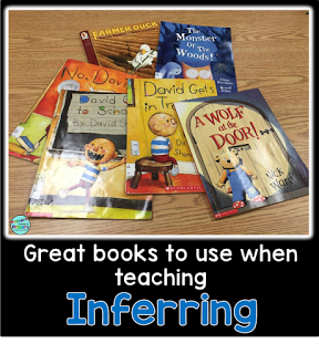 Picture Books to Teach Inferring