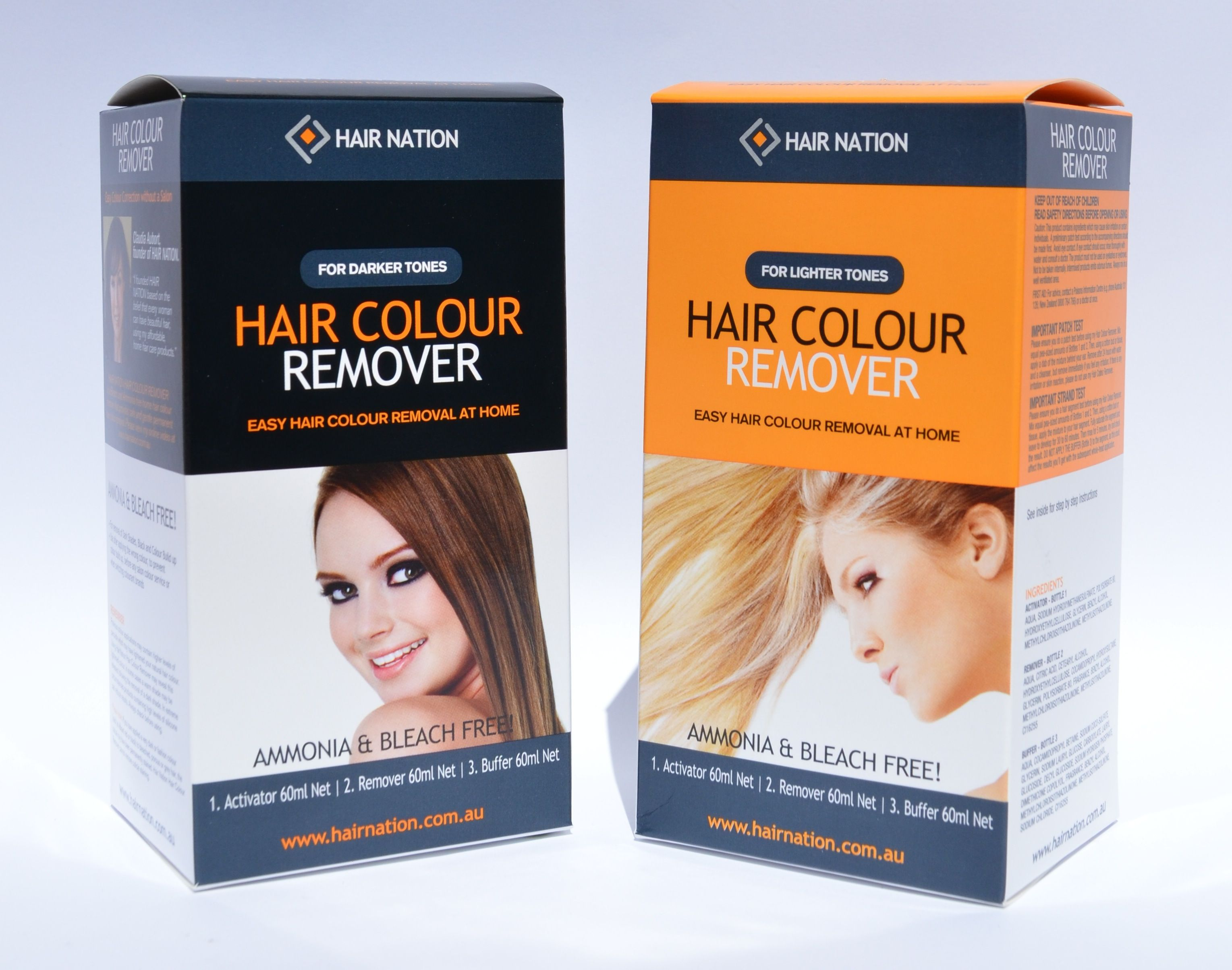 Hair Nation Hair Colour Remover A Safe Way To Remove Hair Dye And
