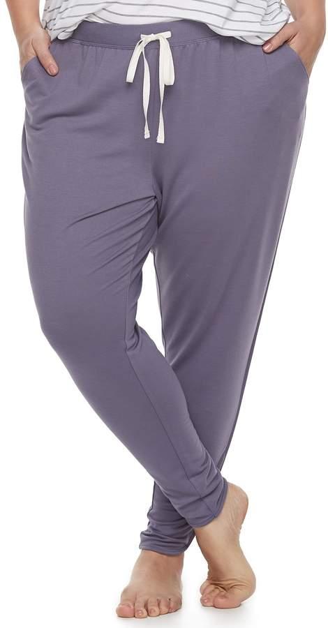 0604c9cf994e9 Sonoma Goods For Life Plus Size SONOMA Goods for Life Tulip Hem Lounge Pants