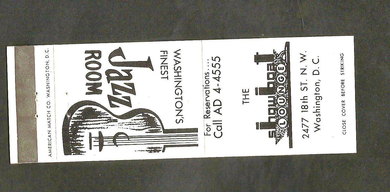 Original Showboat matchbook