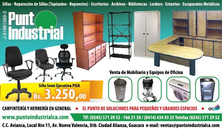 Punto industrial venta de mobiliario y equipos de oficina ...