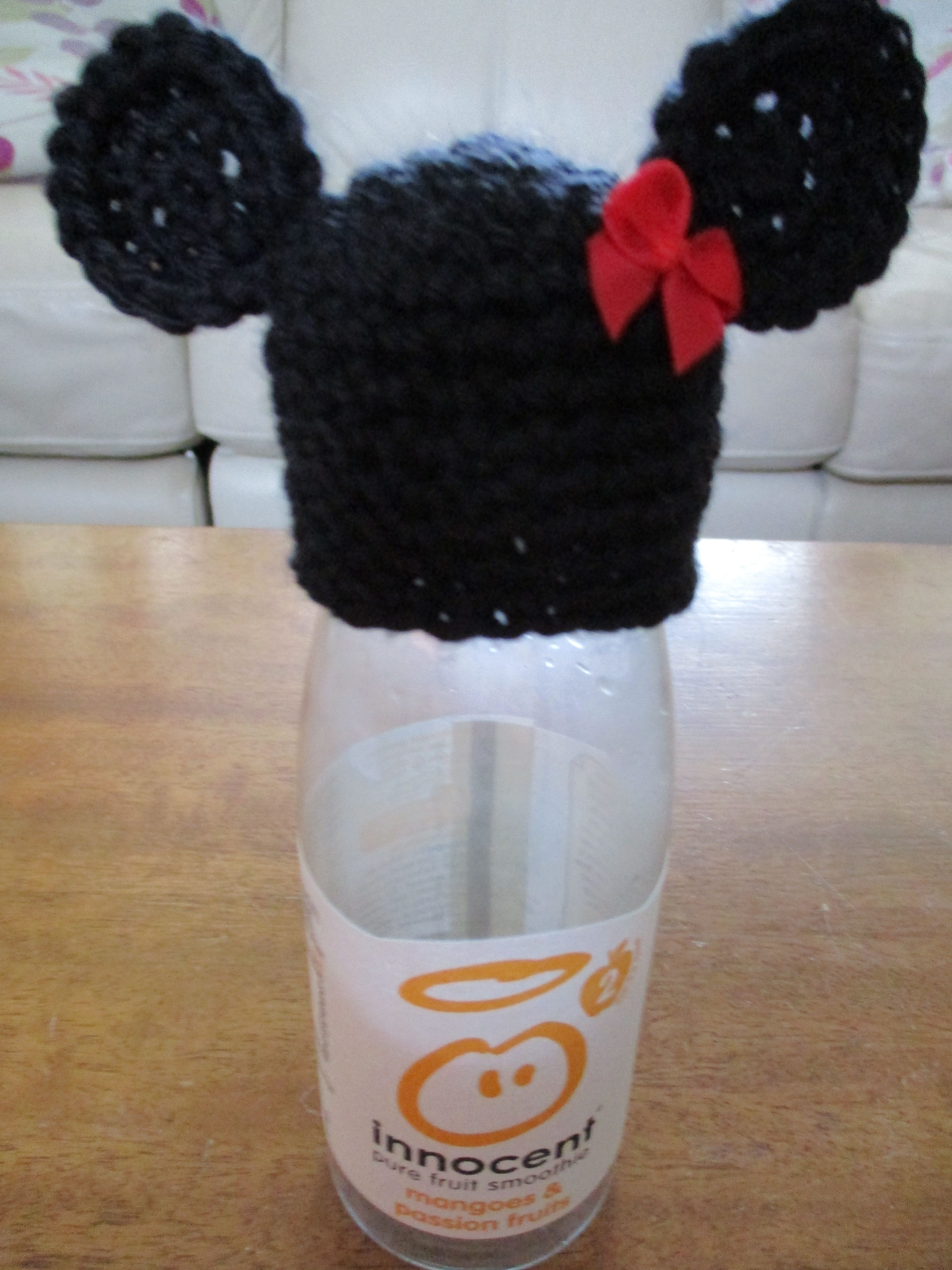 174feef88 minnie hat   Innocent Smoothie Hats   Knitted hats, Crochet patterns ...