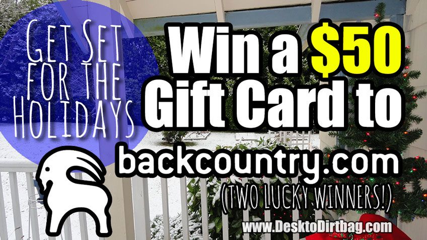 Win a $50 Gift Card to Backcountry.com & Save Big on Outdoor Gear ...