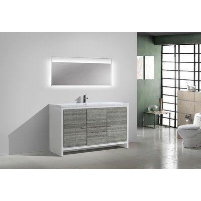Ivy Bronx Melillo 59 Single Bathroom Vanity Set Single Sink