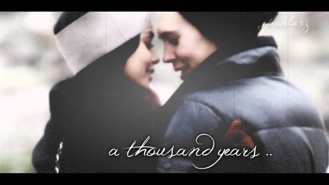 a thousand years // vanessa + austin