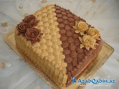 Pin By Eqana On Tortlar Ve Siriniyyatlar Cupcake Icing Cupcake Cakes Buttercream Cake