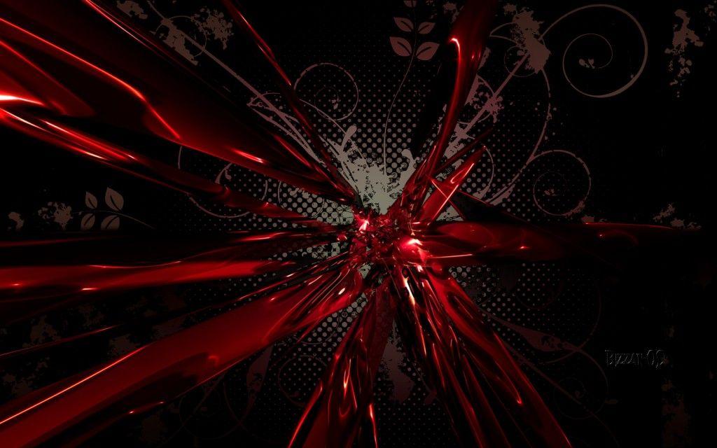 Black Red Abstract Wallpaper Wallcrisp Abstract Wallpaper