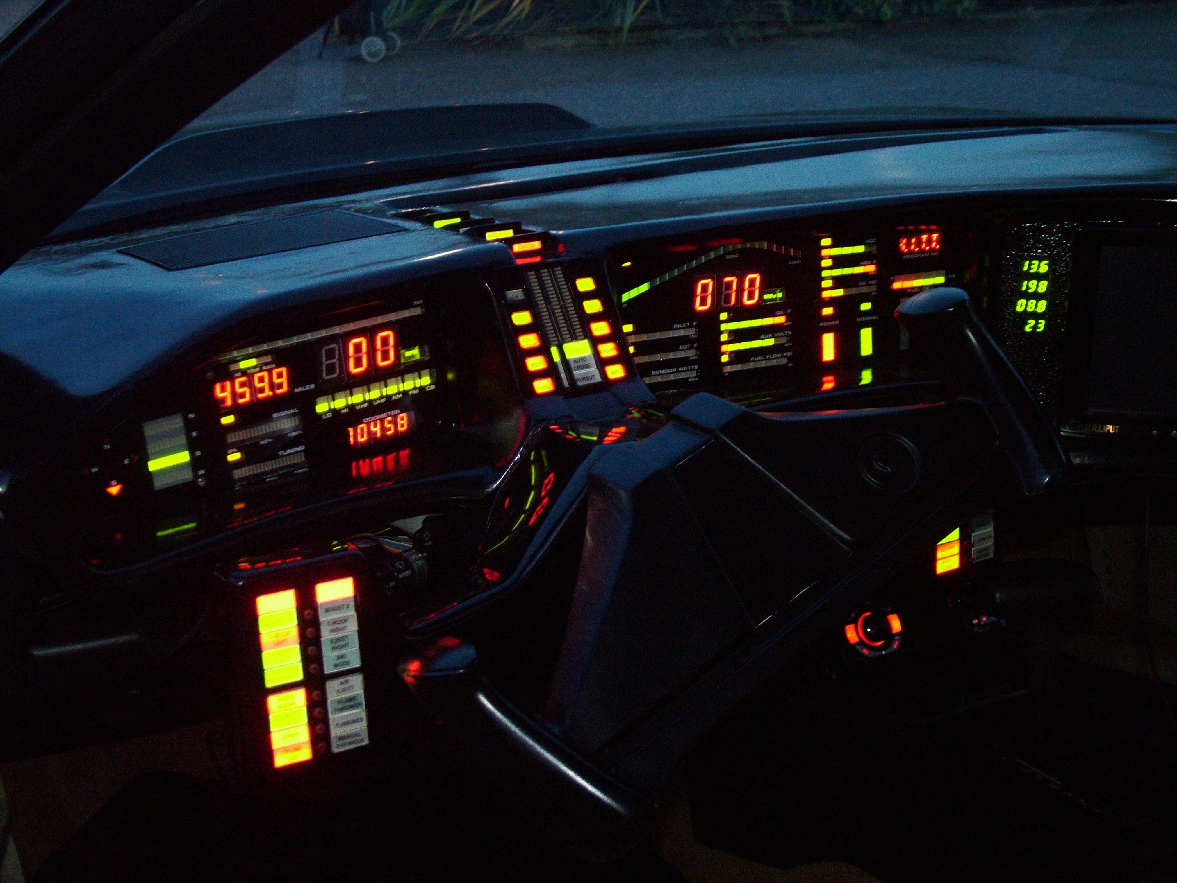Knight Rider The Car Was So Cool Nostalgia Pinterest Firebird Instrument Cluster Circuit Board For Cars With Factory Gauges