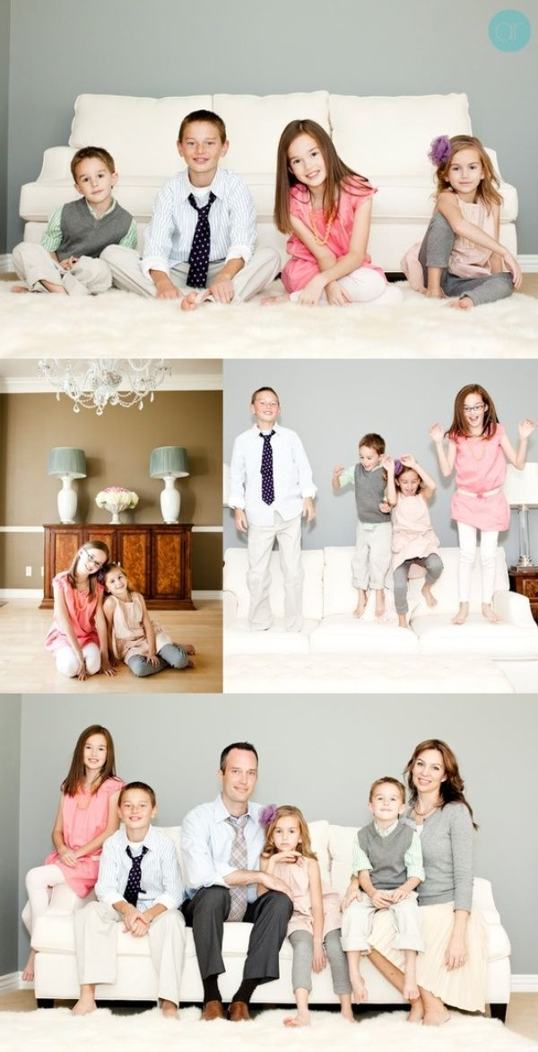 Creative indoor family portraits google search family for Creative family photo shoots