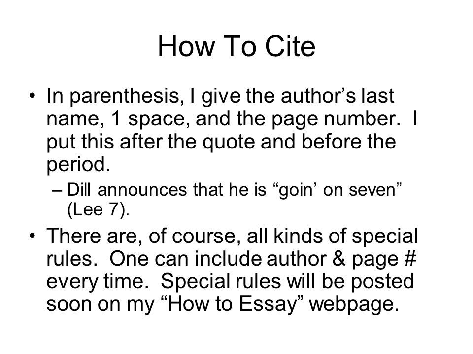 How To Quote And Paraphrase Ppt Download Picture Image Quotes Paraphrasing Author Name In Parenthesis Parenthesi