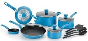 Buy this T-fal C969SE Excite Nonstick Dishwasher Safe / Oven Safe PFOA Free Cookware Set online today with deep discounted for stick free cooking and hassle free cleaning.