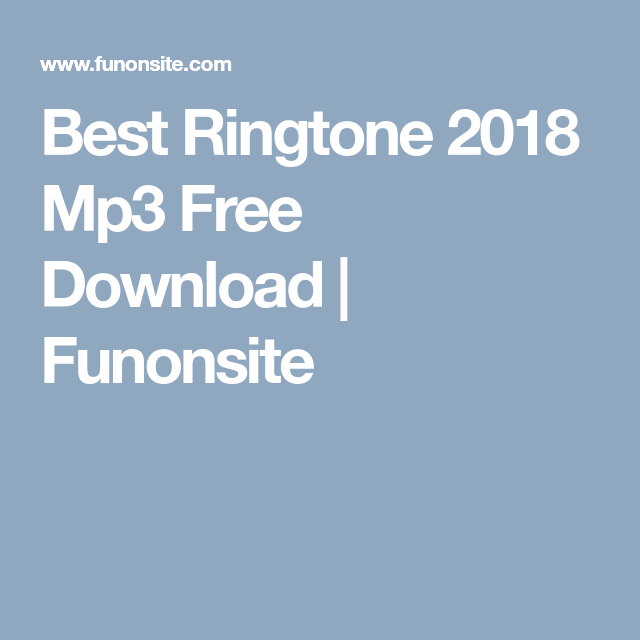 iphone ringtones new download 2018