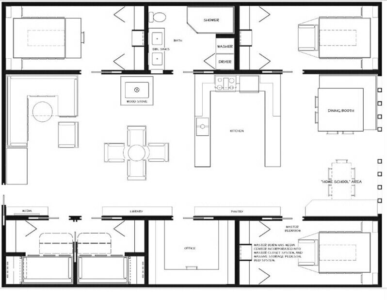 Salt Box 2 X 48s High Cube House Ideas Pinterest