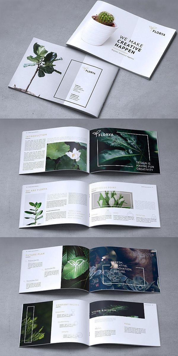 Photo of FLORYA – Creative company brochure – # Brochure #Business #Corporate #Creative … – Draft