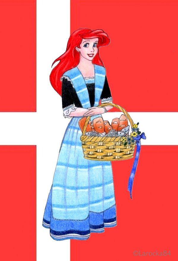 Ariel, princess of Denmark by Larocka84.deviantart.com on ...