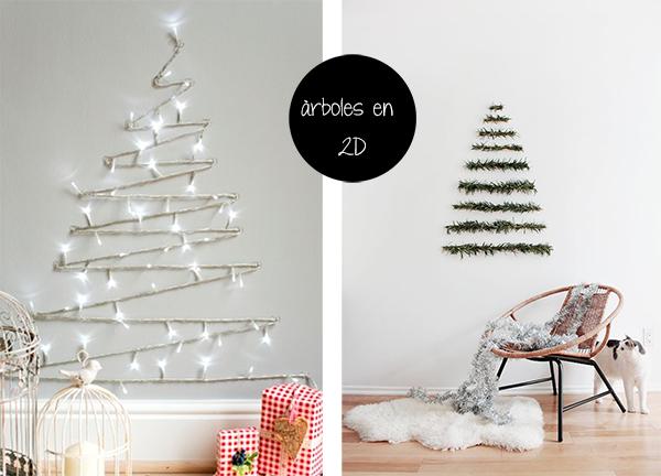 La decoraci n de navidad en una casa peque a navidad - Decoracion para casas pequenas ...