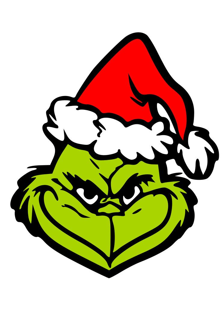 Grinch Head SVG PNG by DavidDesignShop on Etsy | Grinch ...