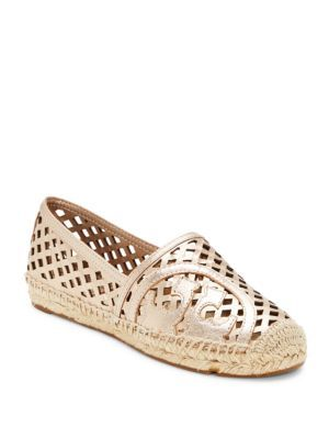 3ec355e873e TORY BURCH Slip-On Leather Espadrilles.  toryburch  shoes  espadrilles