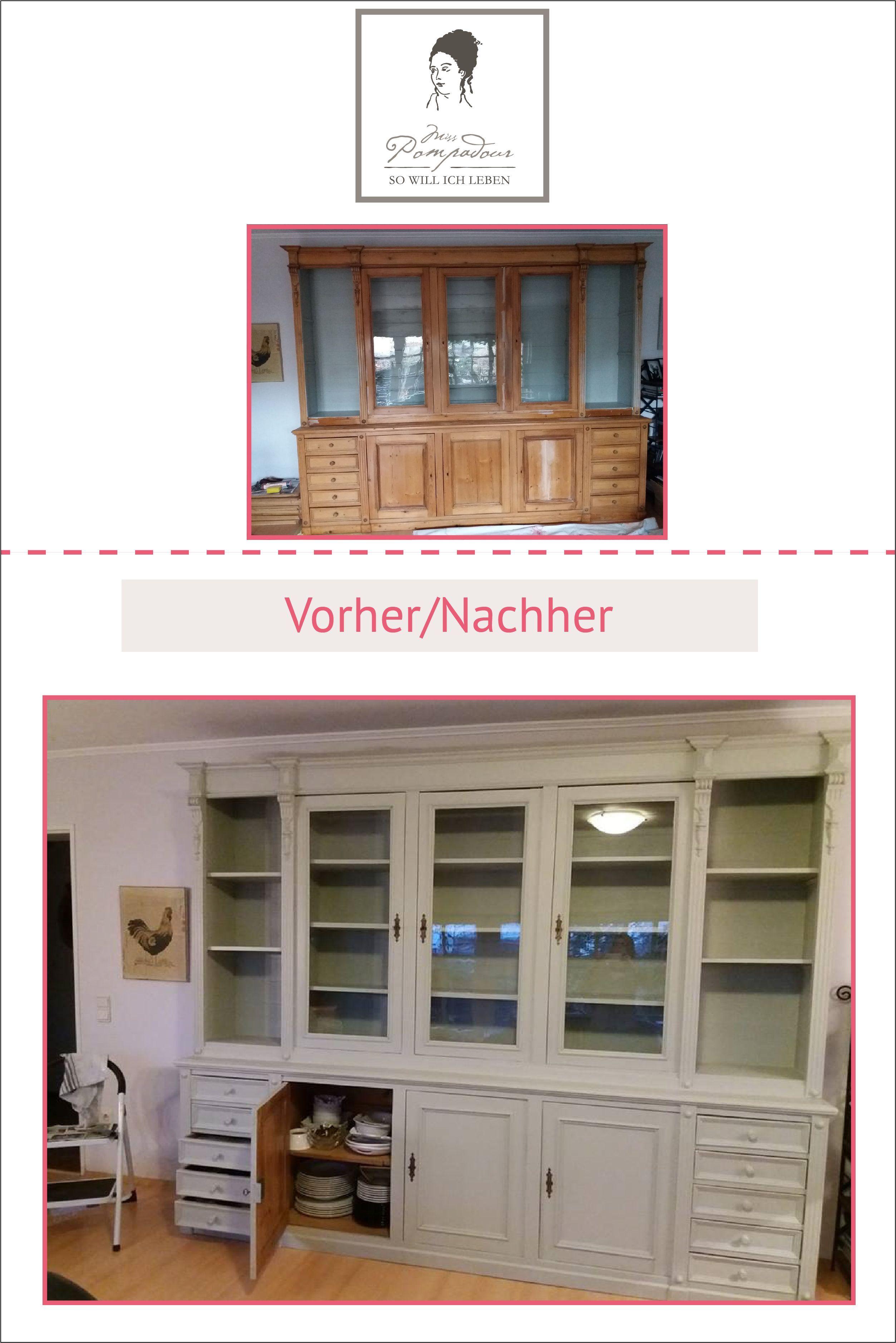 Kreidefarbe Mit Renoviert Schrank Chalkpaint Von Painting The