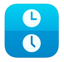 More Examples Of Great App Icon Design Timelet Timelet Lets You Find Out The Local Time In The World Easil App Icon Design App Icon Time Zone Converter