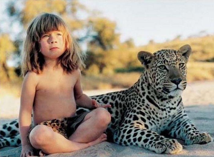 Типпи Дегре - современный ребенок-Маугли