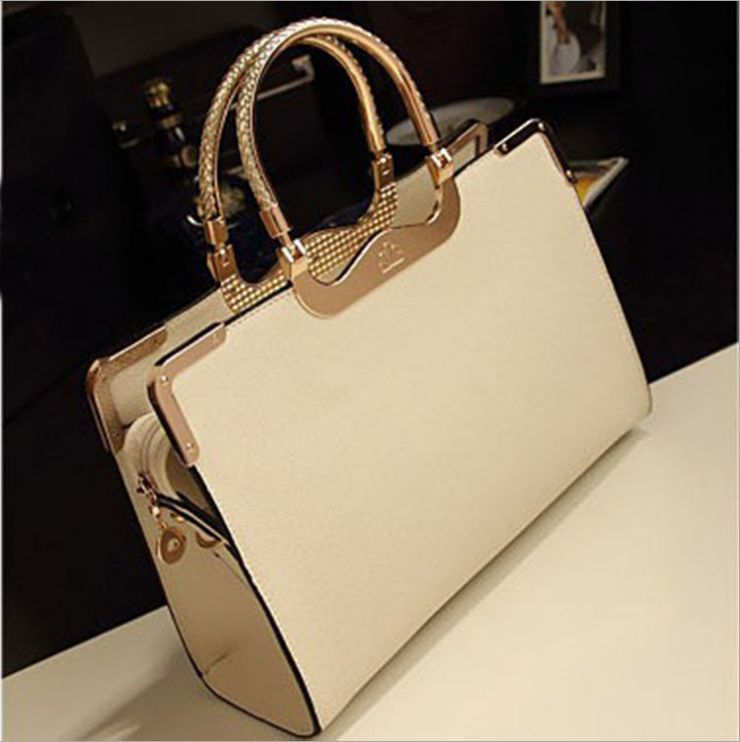 Cool Bags Female Purse Solid Shoulder Bags Office Lady Casual Women Bag