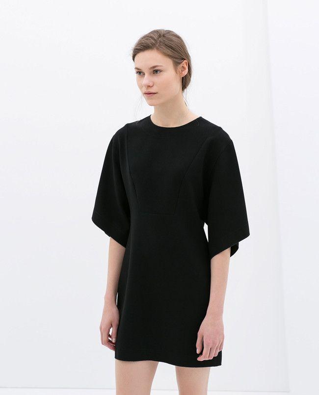 Zara vestido negro verano