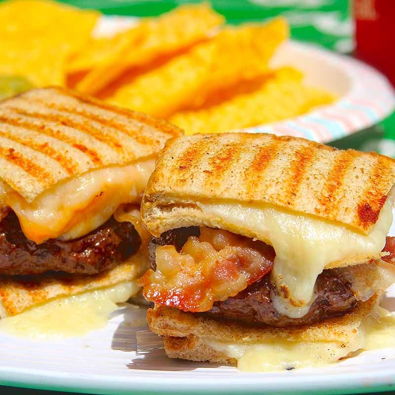 Game Day Grilled Cheese Slider
