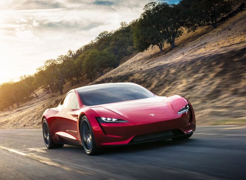 Tesla Roadster Electric Supercar Races To A Top Speed Over 250 Mph Avto Mashini