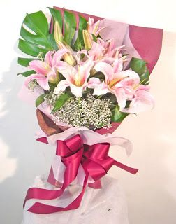 Bunga Lily Casablanca di Jakarta  993ab8da06